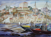 Portugal. Boats in Porto